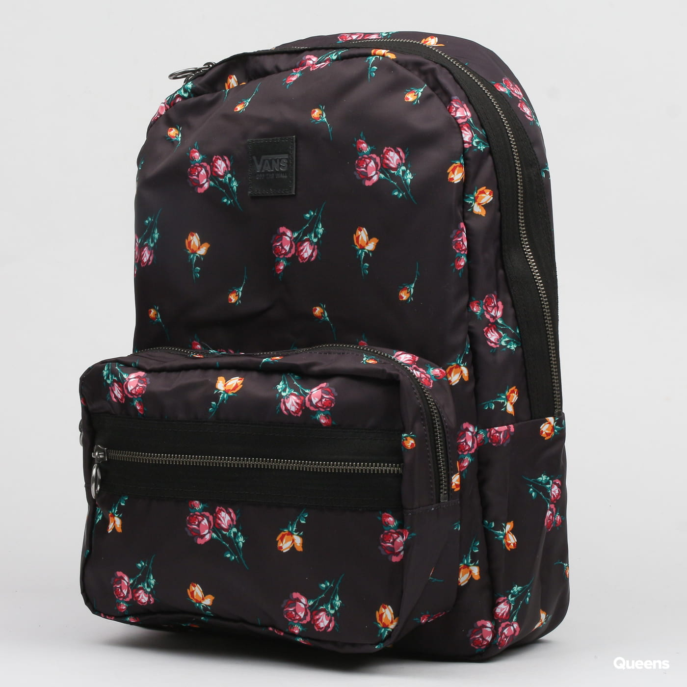 5ffda3f3a11 Backpack Vans Distinction II black / multicolor (VN0A3PBLUV3) – Queens 💚