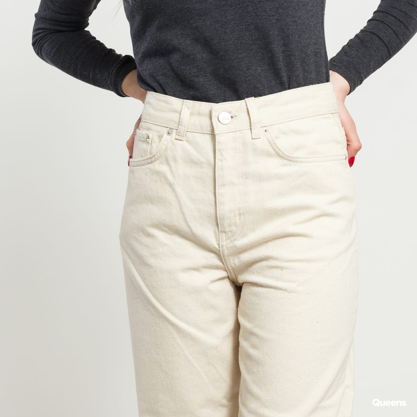 WOOD WOOD Ilo Jeans offwhite