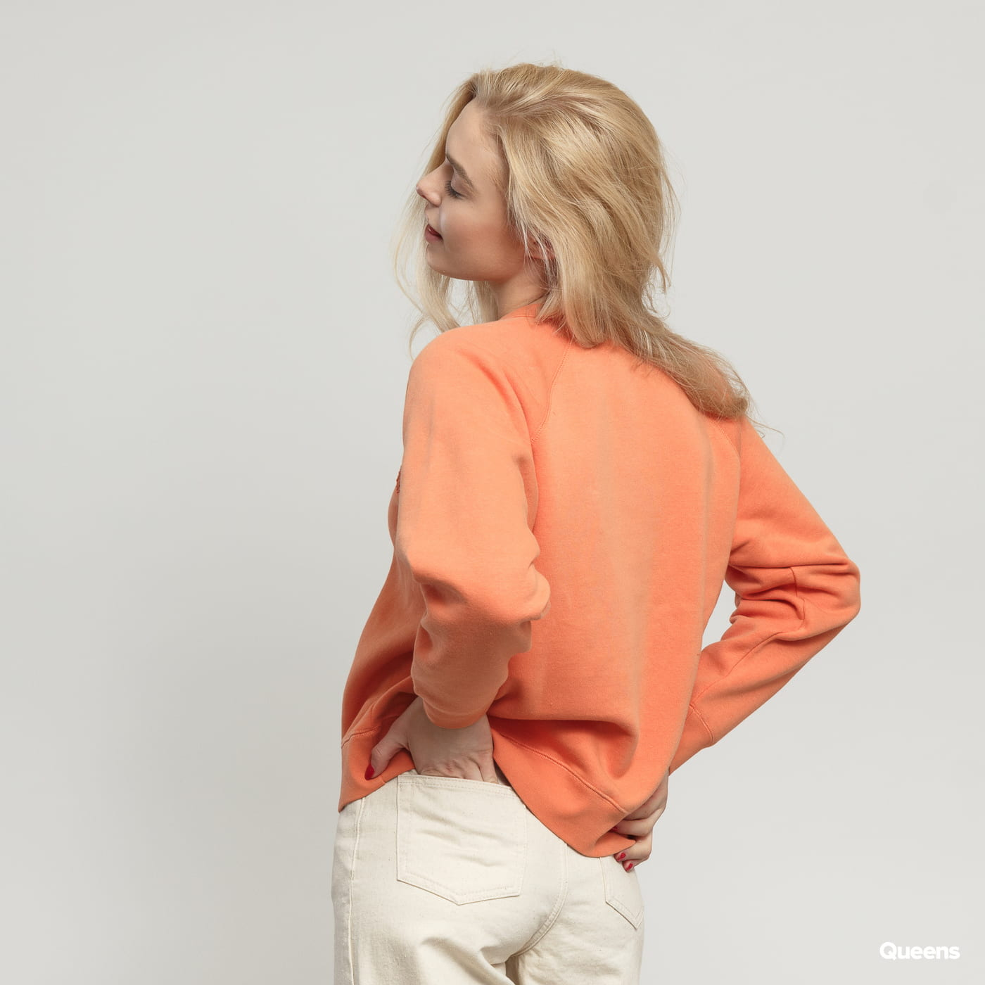 WOOD WOOD Jerri Sweatshirt orange