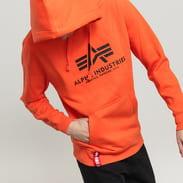 Alpha Industries Basic Hoody oranžová