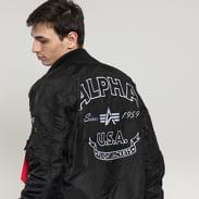 Alpha Industries MA-1 TT Patch SF černá