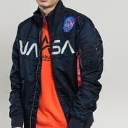 Alpha Industries NASA Jacket Flight Nylon navy