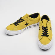 Converse One Star OX bold citron / black / white