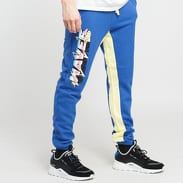 Pink Dolphin Electric Waves Sweatpants modré