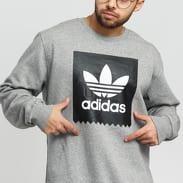 adidas Originals BB Crewneck melange šedá