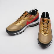 Nike Air Max 97 / BW metallic gold / university red