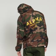 Alpha Industries Windbreaker camo zelená