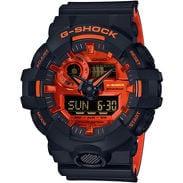 Casio G-Shock GA 700BR-1AER černé / oranžové