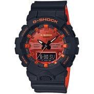 Casio G-Shock GA 800BR-1AER černé / oranžové
