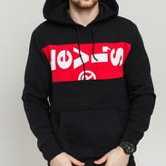 Levi's ® L Tab Oversized Hoodie černá