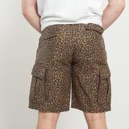 Levi's ® Hi-Ball Cargo Shorts černé / tmavě béžové / hnědé
