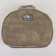 The North Face Base Camp Duffel - S camo béžová / hnědá