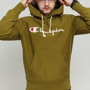 Champion Reverse Weave Hooded olivová