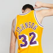 Mitchell & Ness Swingman NBA LA Lakers Magic Johnson Jersey žlutý