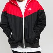 Nike M NSW HE WR Jacket HD černá / červená