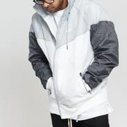 Nike M NSW HE WR Jacket HD bílá / šedá