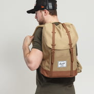The Herschel Supply CO. Retreat Backpack béžový / hnědý