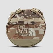 The North Face Base Camp Duffel - S camo béžová / hnědá