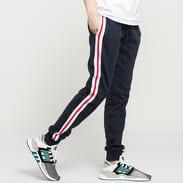 Urban Classics 3-Tone Side Stripe Terry Pants navy / bílé / červené