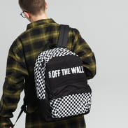 Vans Central Realm Backpack černý / bílý