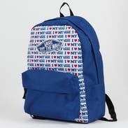 Vans WM Realm Backpack modrý / bílý / červený