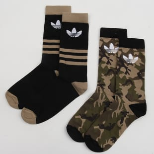 adidas Originals Camo Crew 2Pack