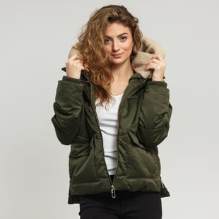 Urban Classics Ladies Sherpa Hooded Jacket