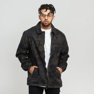Urban Classics Camo Cotton Coach Jacket