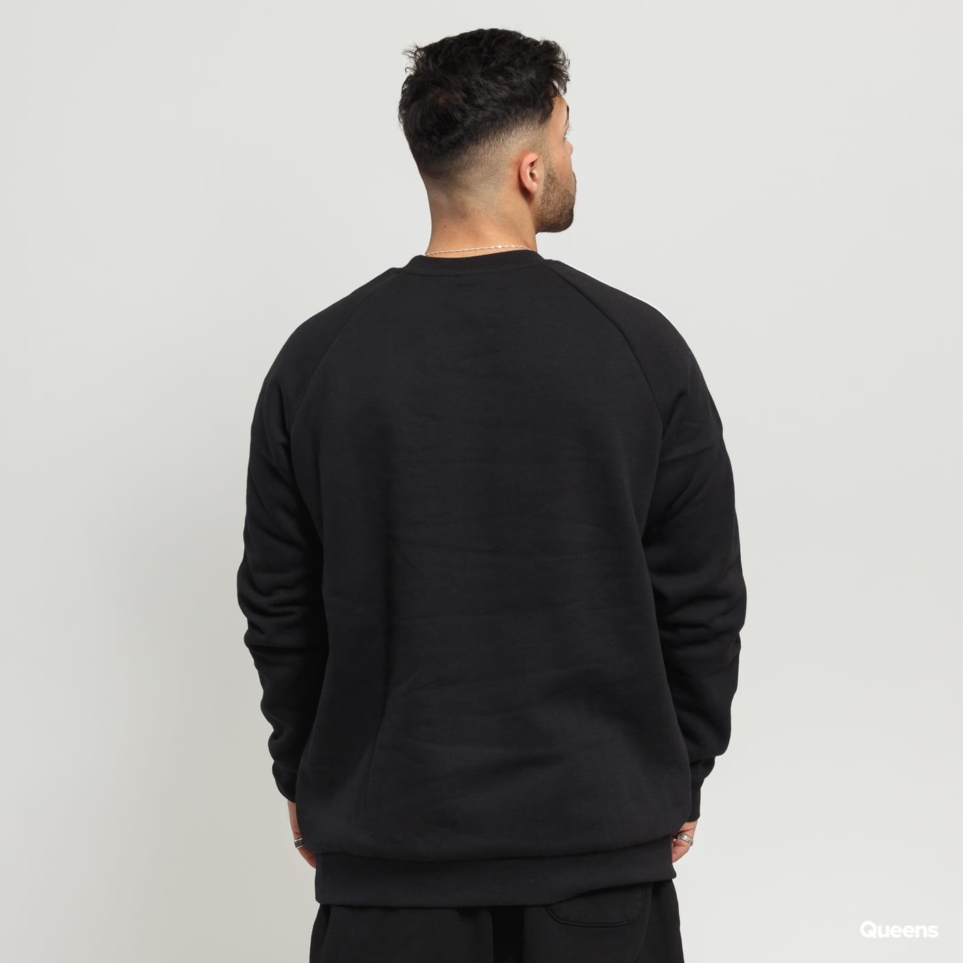 adidas Originals 3 Stripes Crew čierna