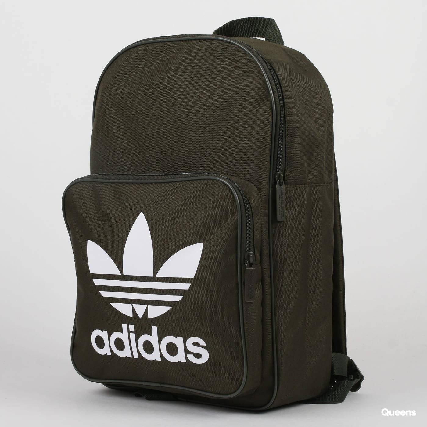 54ae01259b0d2 Rucksack adidas Originals Backpack Classic Trefoil olive (DW5187) – Queens  💚