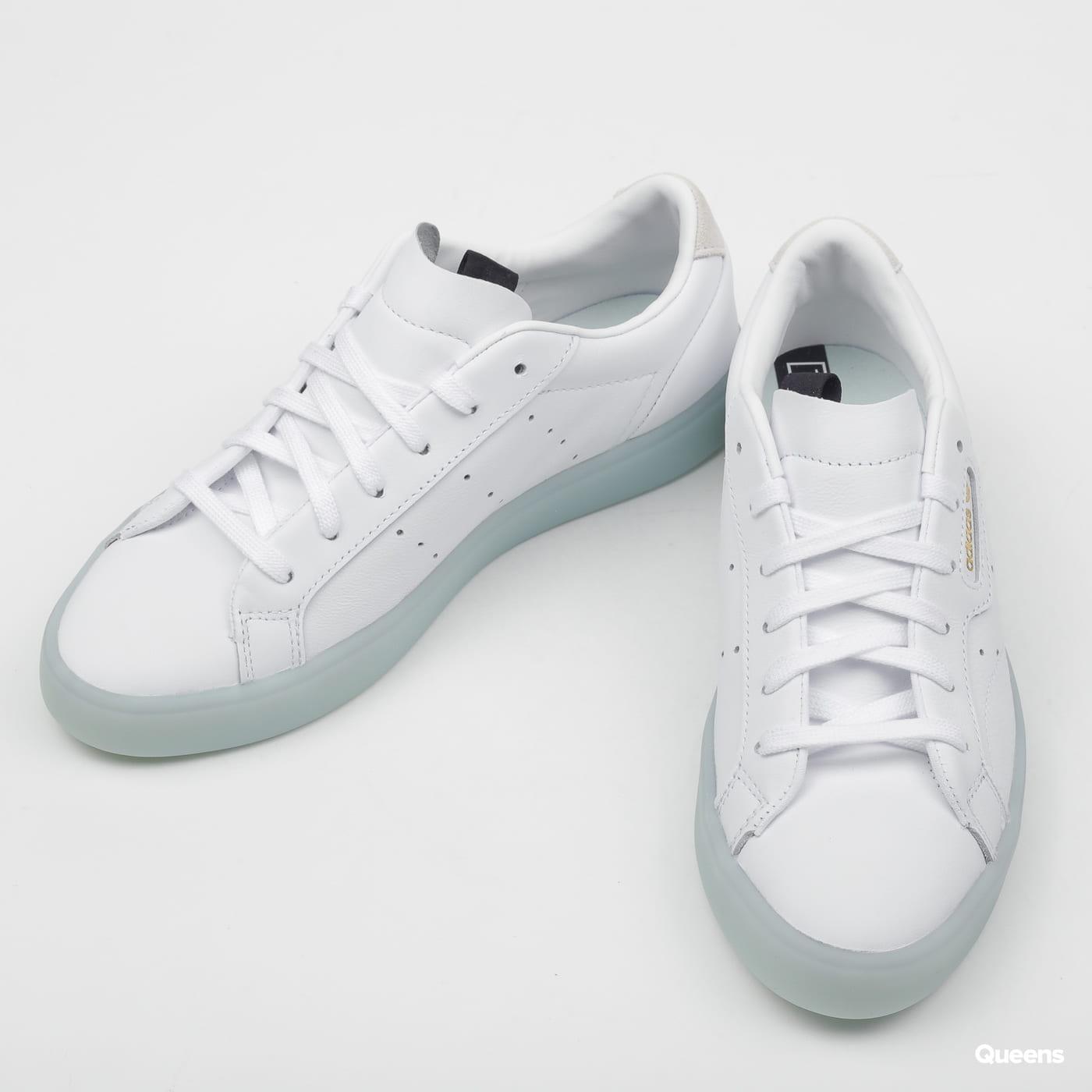 97cfc610 adidas Originals Sleek W ftwwht / ftwwht / icemin (G27342) – Queens 💚