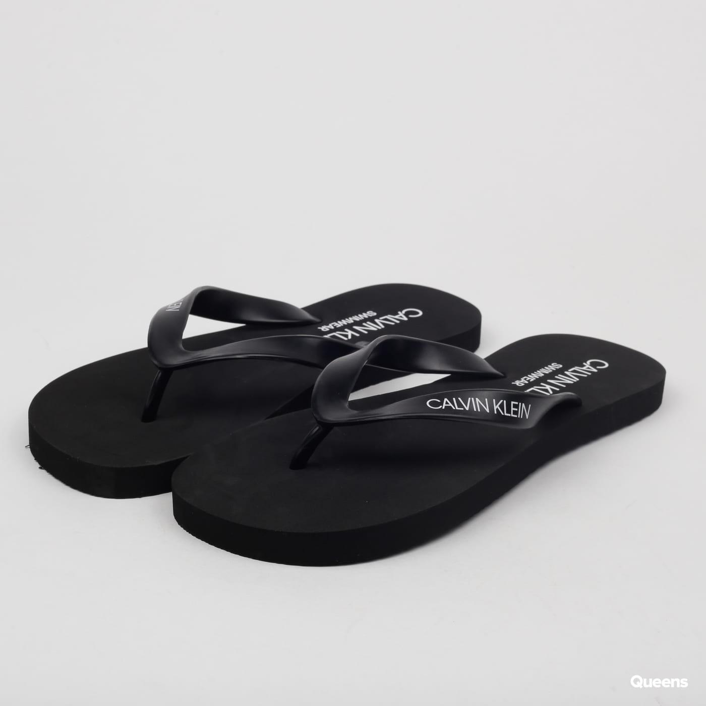 0d4c9e2ba955 Calvin Klein Flip - Flops Sandals (KM0KM00341-001)– Queens 💚