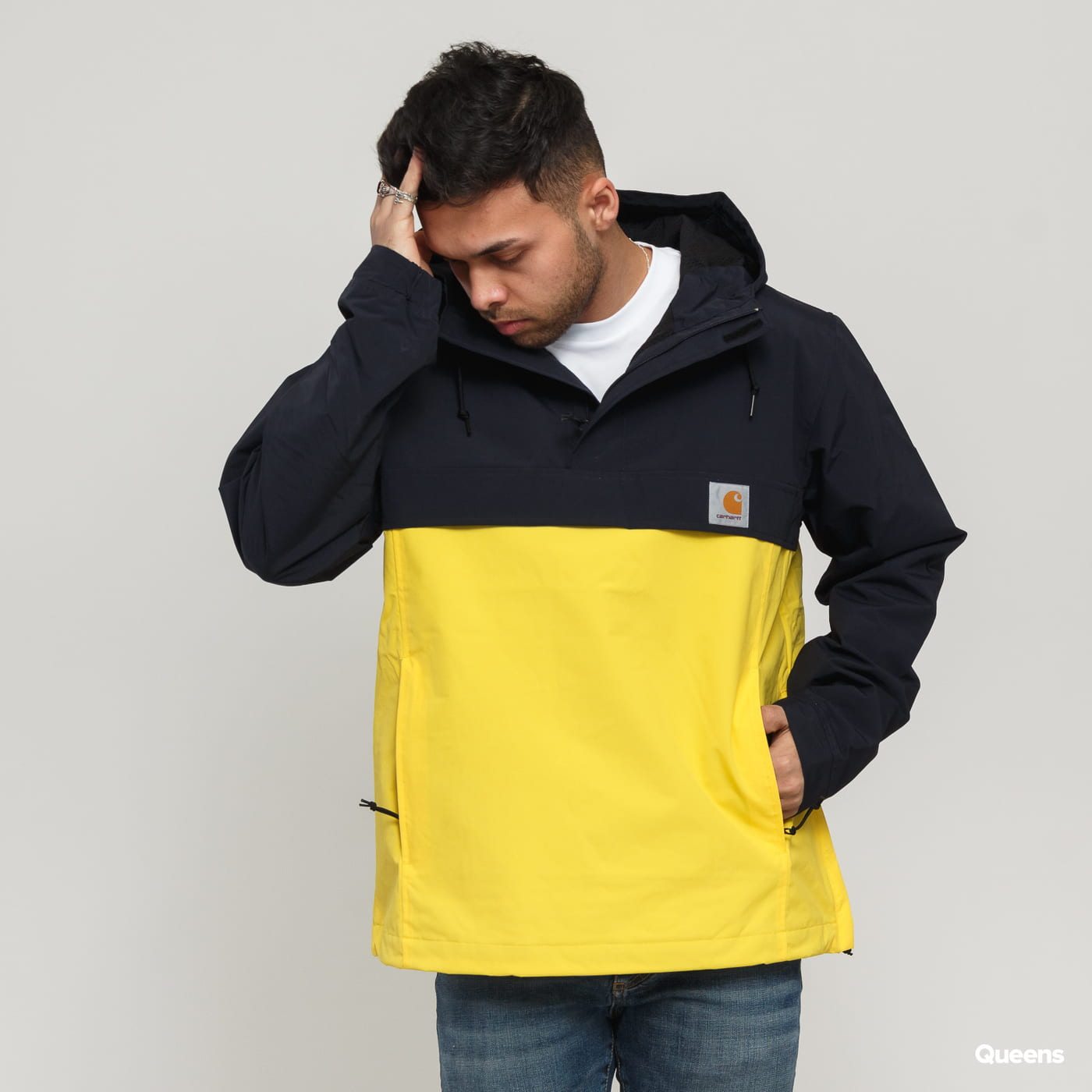 delicate colors reliable quality get new Carhartt WIP Nimbus Two Tone Pullover yellow / black