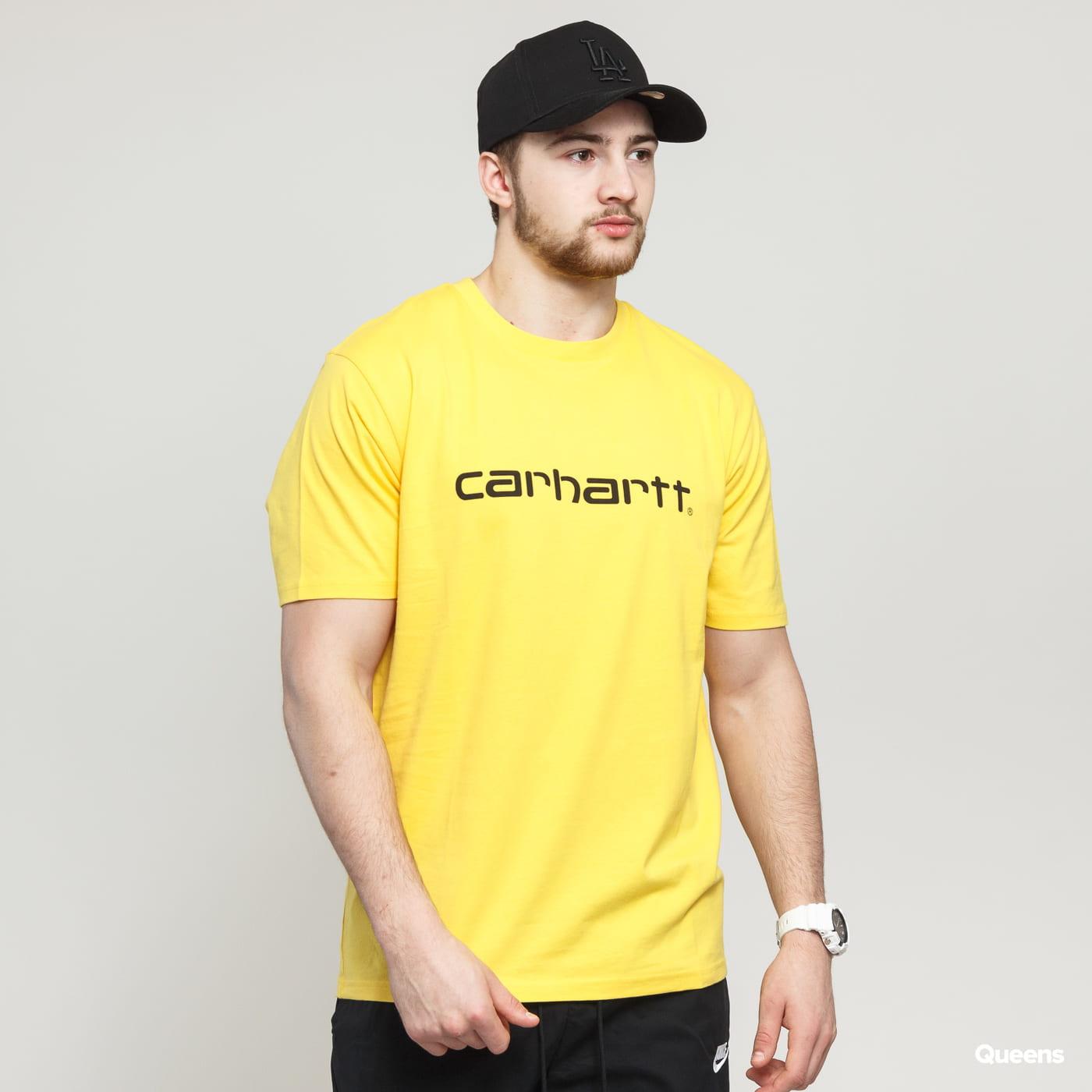 Carhartt WIP SS Script Tee žlté