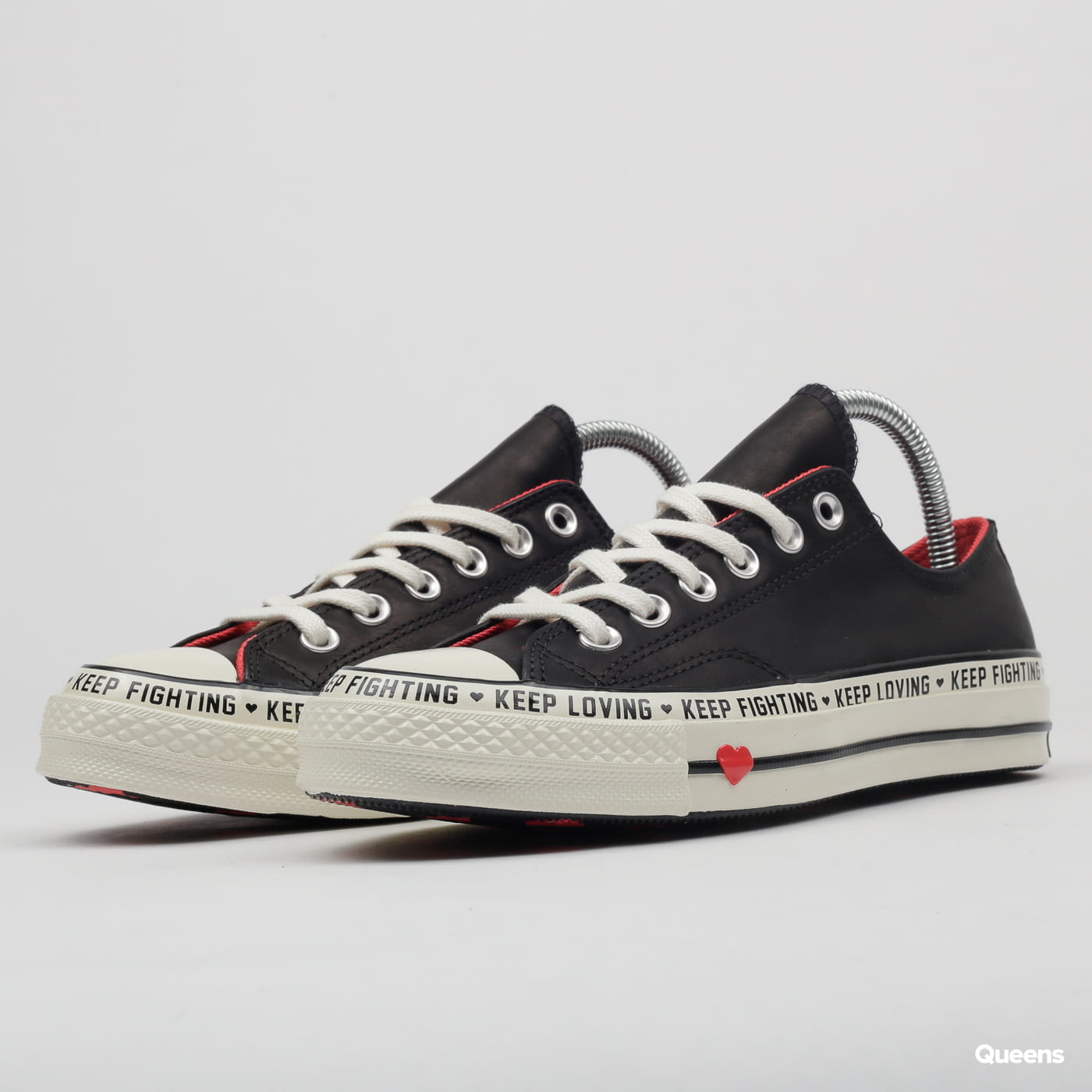 40eee75ec2 Converse Chuck 70 OX black   sedona red   e (C563473) – Queens 💚