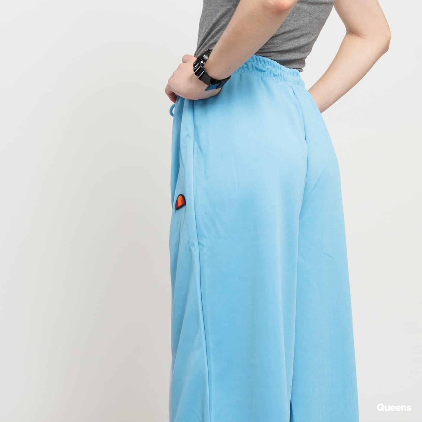ellesse Dahna Wide Leg Popper Pant light blue / white
