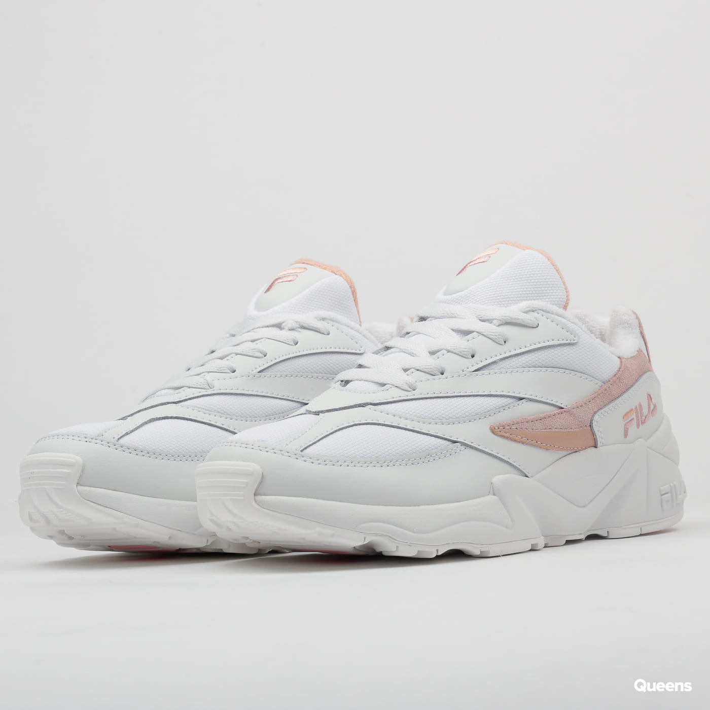 Fila V94M Low WMN white / salmon / chalk pink