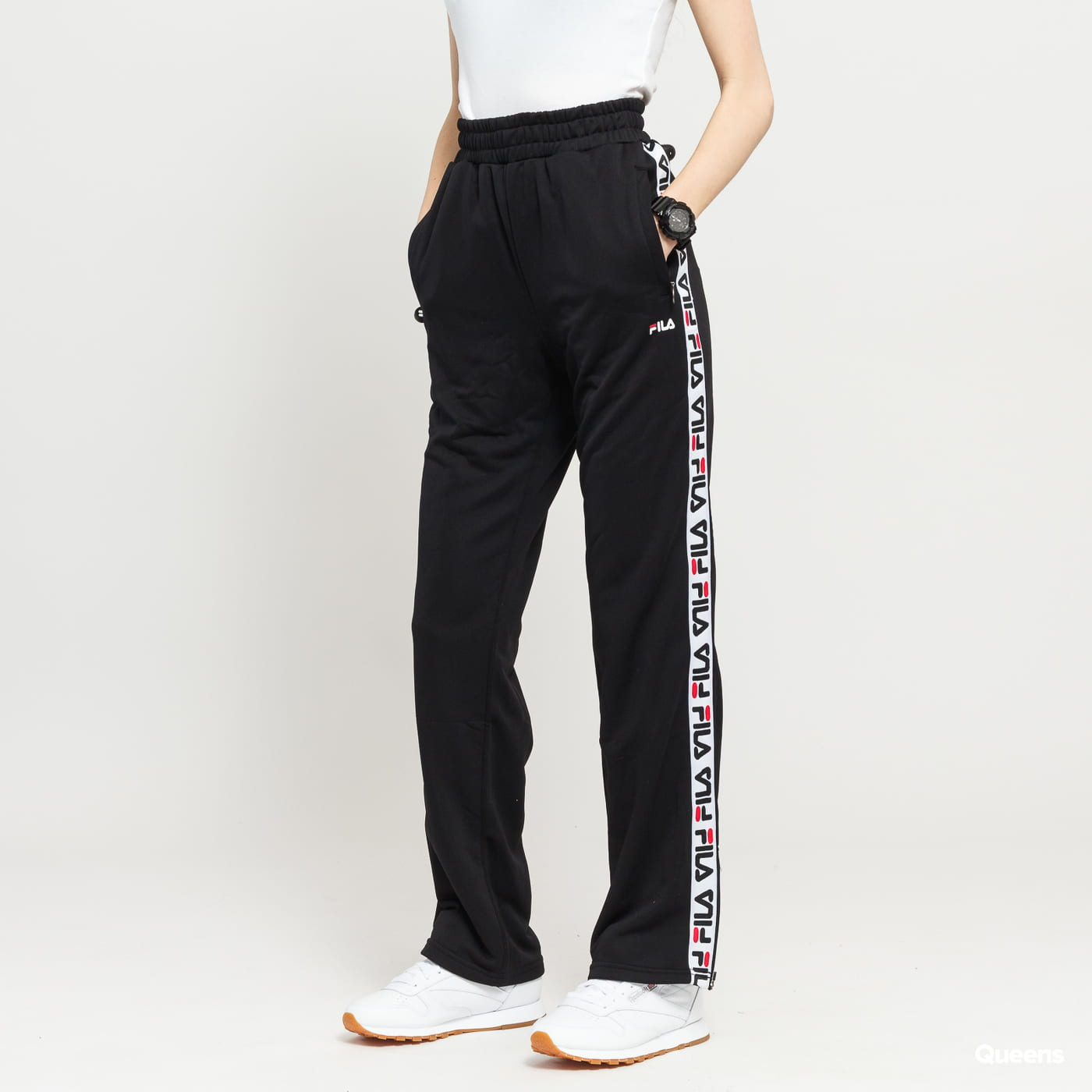 c9de8e15e130 Sweatpants Fila W Thora Track Pants black (687068 002) – Queens 💚