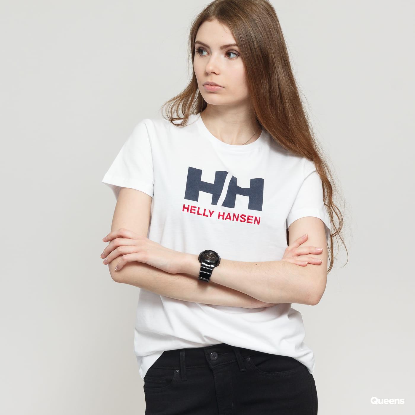 Helly Hansen W HH Logo Tee weiß