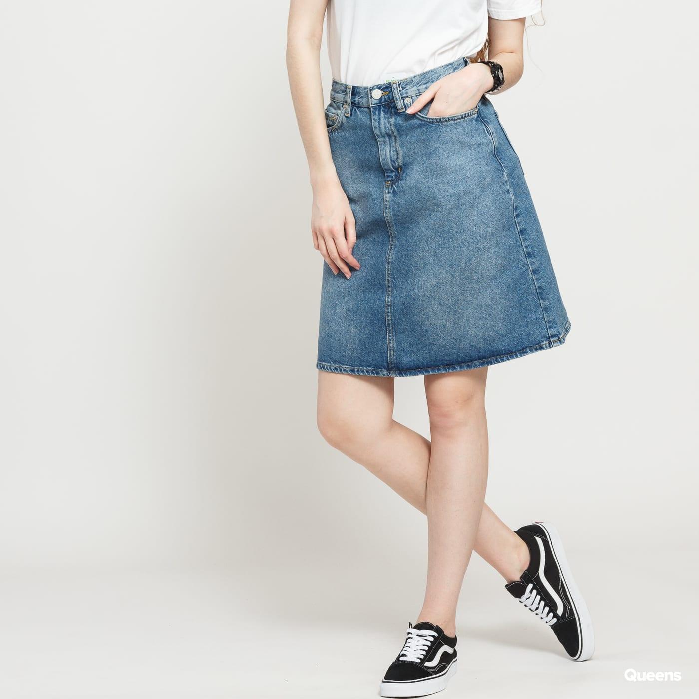WOOD WOOD Ynes Skirt classic blue vintage
