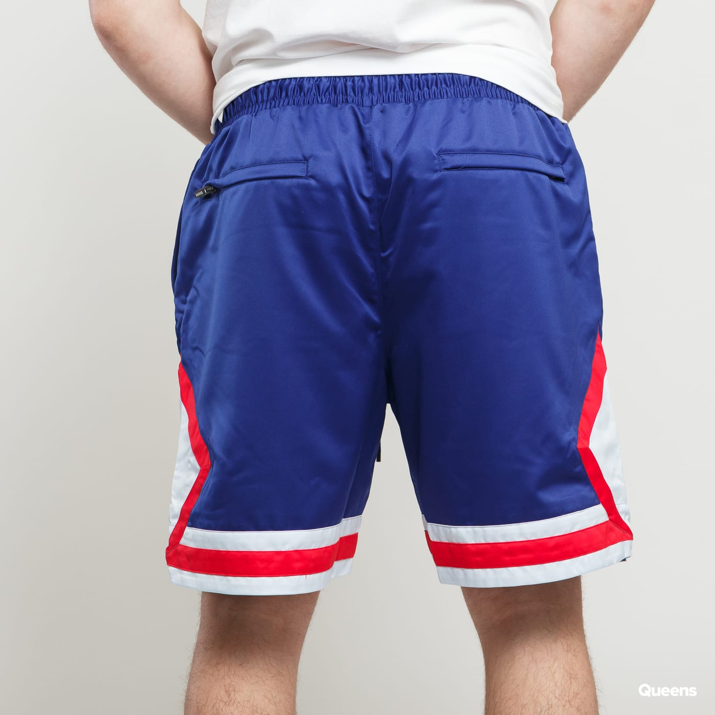 4d7813d6e0b Basketball Shorts Jordan Satin Diamond Short dark blue / white / red ...