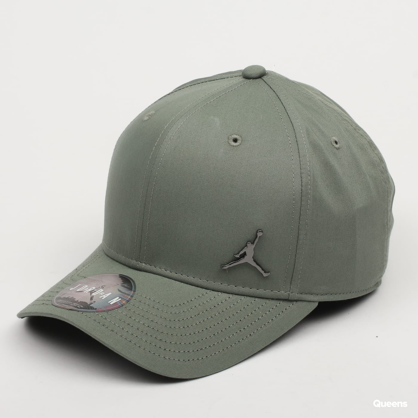 217f2358e5f Hat Jordan Classic99 Metal Jumpman (899657-323)– Queens 💚