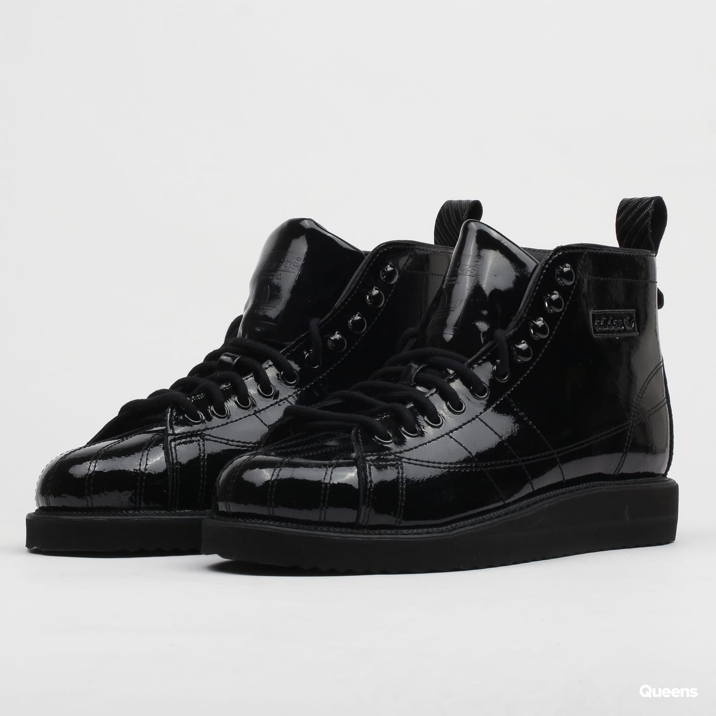 competitive price los angeles exquisite style adidas Originals Superstar Boots W cblack / cblack / cpurpl