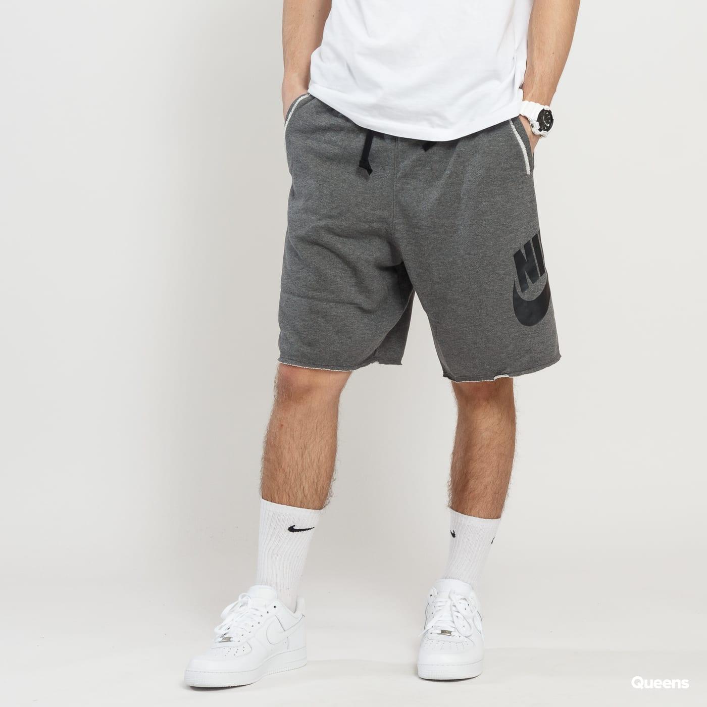 984f138749a64 Sweat Shorts Nike M NSW HE Short FT Alumni melange dark gray (AR2375-071) –  Queens 💚