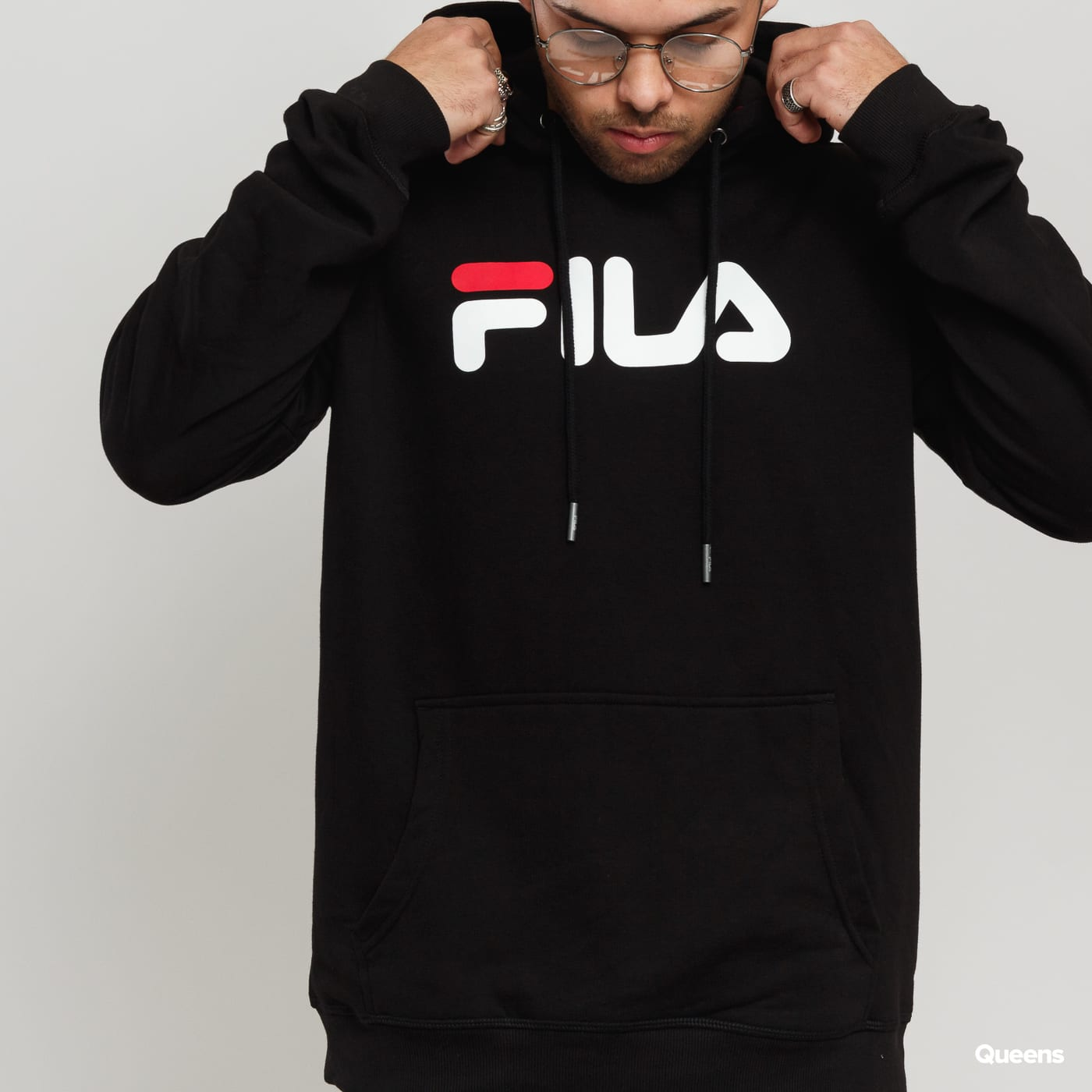 Fila Unisex Classic Pure Hoody black