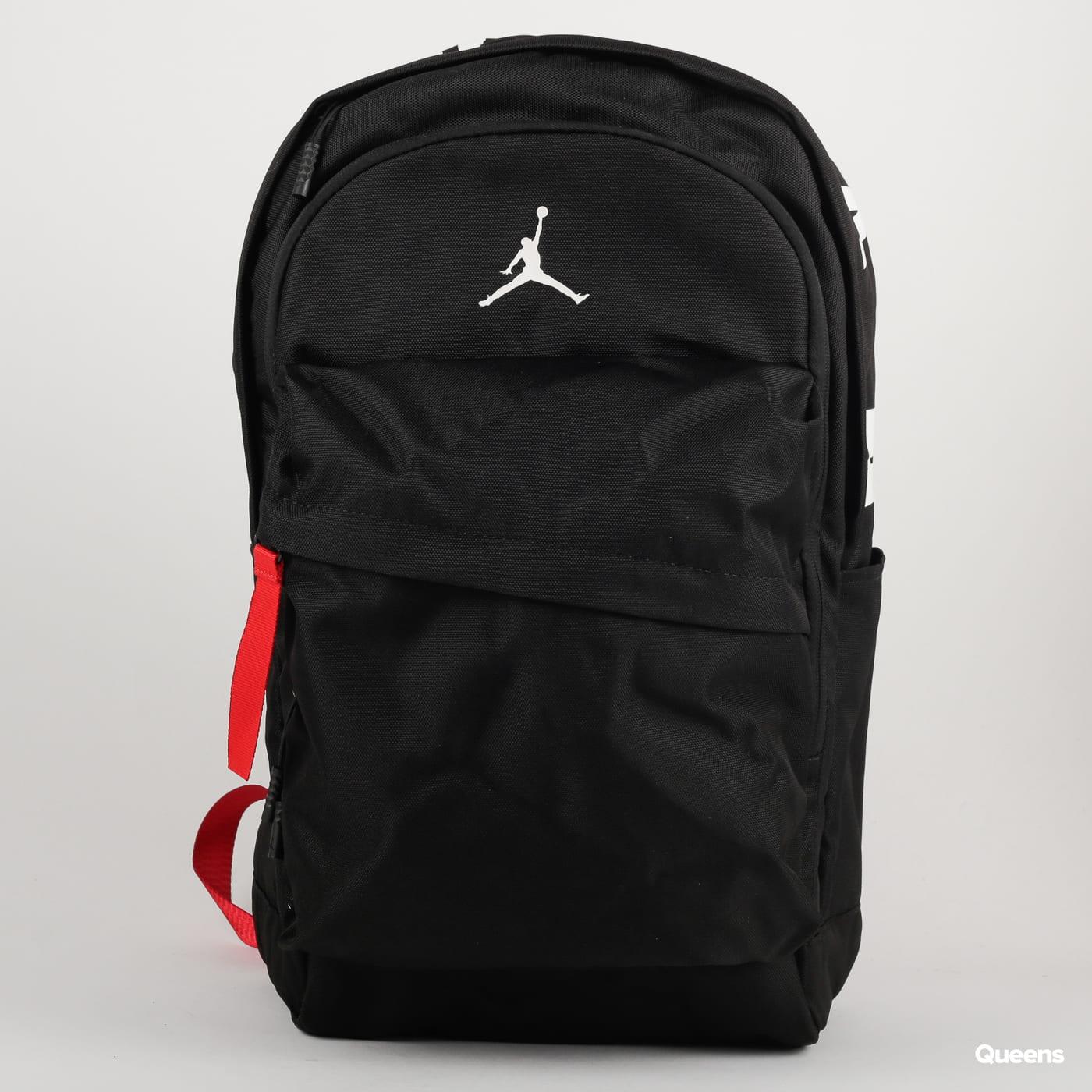 Jordan Air Patrol Backpack black / white / red