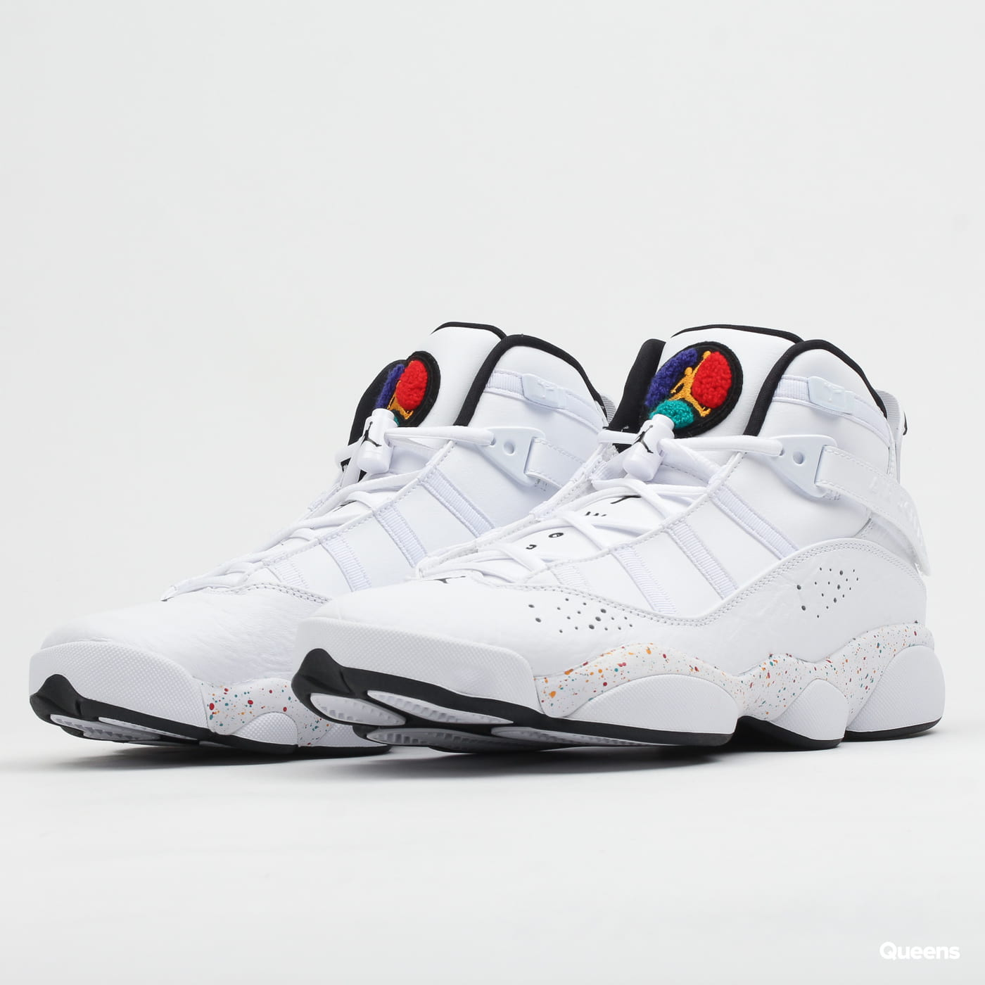 huge discount 6f1d4 ef435 Sneakers Jordan Jordan 6 Rings (322992-100)– Queens 💚