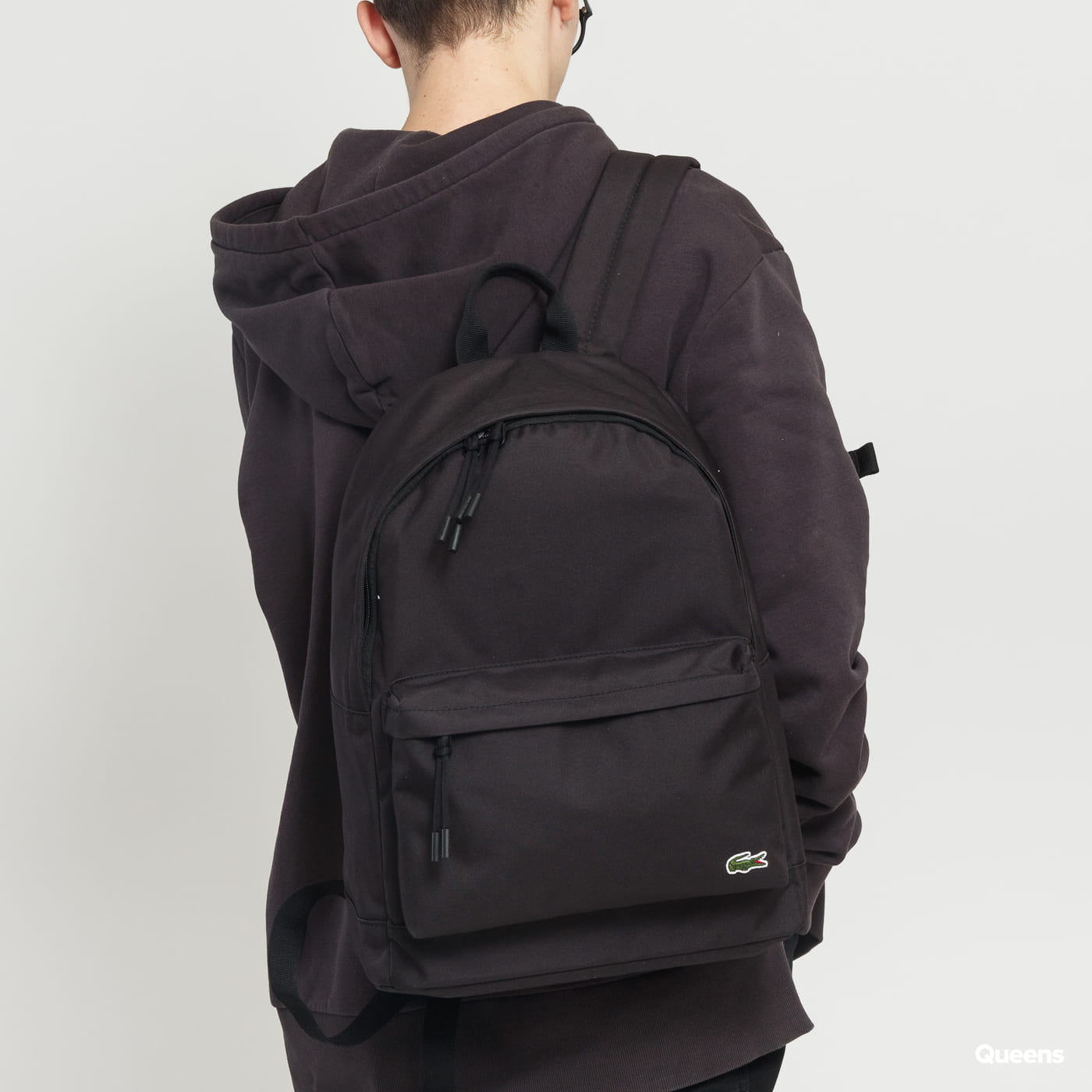 LACOSTE Men's Néocroc Canvas Backpack schwarz