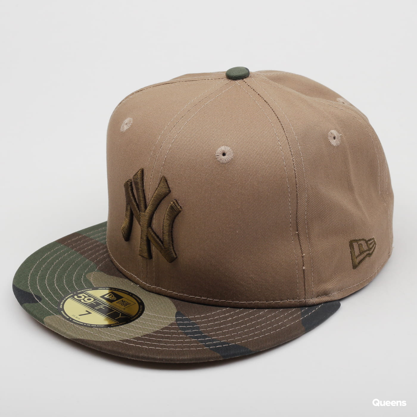 Kšiltovka New Era 5950 MLB Camo Essential NY (11871656) – Queens 💚 7166af8d03