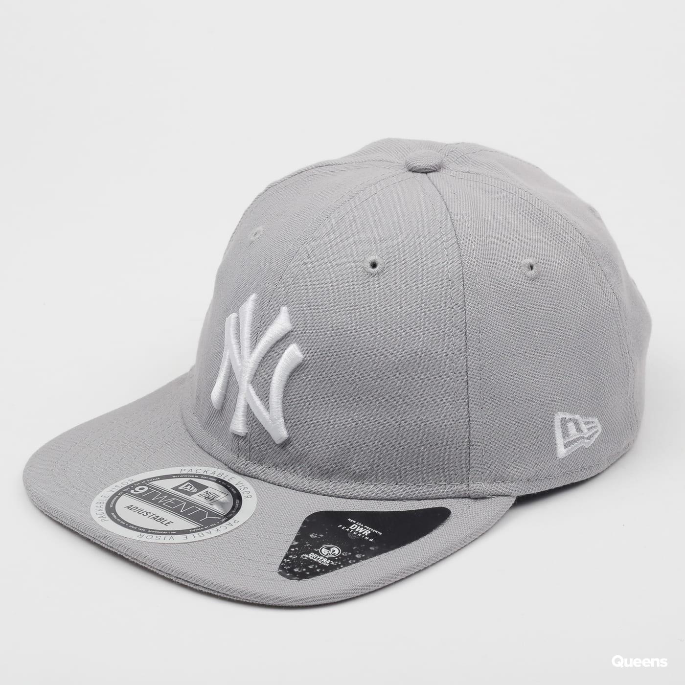 New Era 920 MLB Team Packable NY šedá